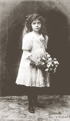 Princess Elisabeth of Hesse and by Rhine (1895-1903) was the only daughter of Grand Duke Ernest Ludwig of Hesse, the brother of Empress Alexandra Feodorovna. Thus,...