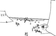 Centro cultural (1972), Le Havre, França Oscar Niemeyer, United Nations Headquarters, Auditorium, 21st Century, Modern Architecture, France, Drawing, Building, Interior