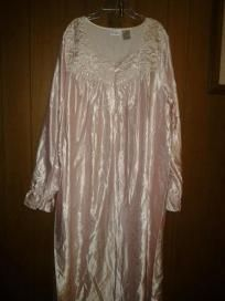 Chrnceter dress for woman v cute sleeping wear size xlarge free ship for $34.99nwt pink