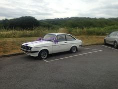 The wedding car at a family wedding a couple of months back. So much nicer than any Limo or other high class car in my opinion. Mk2 Escort RS2000