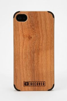 Recover Wood iPhone Case  #UrbanOutfitters.  Can't decide between this color and the darker one!