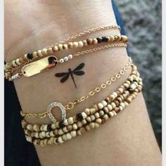 This one maybe in white ink. A small dragonfly: | 65 Totally Inspiring Ideas For Wrist Tattoos