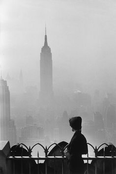 New York City. 1955. Empire State Building, Elliott Erwitt
