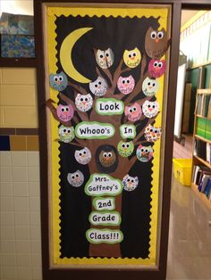 My back to school bulletin board !