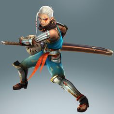 Hyrule Warriors new official promo arts : Impa