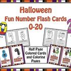 Our lovable number characters are dressed up for Halloween!  Half sheet flash cards for numbers 0-20! Great for classroom, center, and project uses...