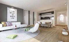 Im HURRY UP, MARC! sind die einzelnen Räume mit Echtholz-Eicheparkett und Fußbodenheizung ausgestattet.