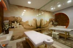 Massage Therapy Rooms, Massage Room, Treatment Rooms, Spa Treatments, Home Spa, At Home Gym, Spas, Spa Rooms, Relax