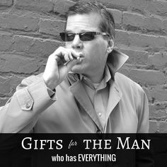 Looking for #gifts for the man who has everything?!