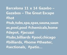 Barcelona 11 x 14 Gazebo – Gazebos – The Great Escape #hot #tub,tubs,spa,spas,sauna,saunas,pool,pool #chemicals,home #depot, #jacuzzi #tubs,billiards #pool,chicago #billiards, #home #theater, #sectionals, #patio #furniture,pool #table #game,pool #games http://zambia.nef2.com/barcelona-11-x-14-gazebo-gazebos-the-great-escape-hot-tubtubsspaspassaunasaunaspoolpool-chemicalshome-depot-jacuzzi-tubsbilliards-poolchicago-billiards-home-theater-section/  # DOUBLE-DOOR WITH LOCK DURABLE METAL ROOF…