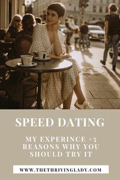 Advice speed dating
