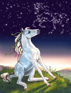 Bella Sara cards www.heathertheurer.com Pegasus, Horse Cards, Winged Horse, Unicorn Art, Horse Drawings, Carousel Horses, Beautiful Horses, Beautiful Creatures, Baby Animals