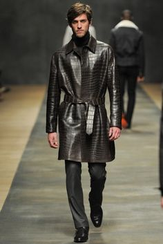 #hermès #fw2012-13 #crocodile leather coat