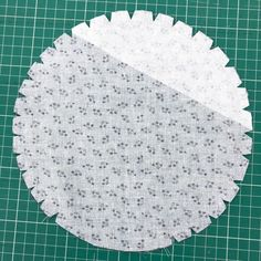 How to Sew a Circular Patch Pocket. Patch pockets are traditionally square-ish or rectangular in shape, but that doesn't have to be so! The Fold Line, Pocket Pattern, Edge Stitch, Circle Shape, Side Plates, Sewing Hacks, Dress Patterns, Patches, Shapes