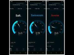 Swiss HighTech: Challenge Speed test 4G/4G+