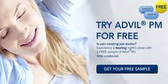 Free Advil PM Sample | Fetch Deals Daily Specials