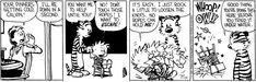 Calvin and Hobbes strip for November 28, 2017