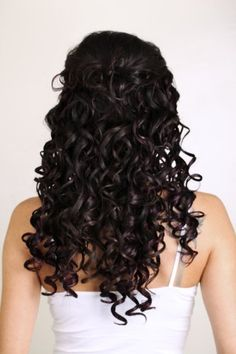 """Rainbow Hair Extensions Tape-in 3cm Deep Curl Curly Remy Human Hair Extensions Wavy (20"""", Brownie Crush"""