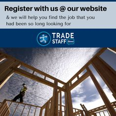 Today, there are endless opportunities in the construction sector and a hardworking and skilled professional can make a good fortune in the sector. So whether you want to change your present job or want to start your professional life, register with us at our website and we will help you find the job that you had been so long looking for!