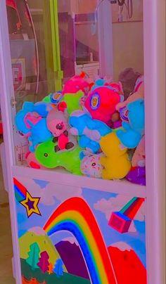 Rainbow Aesthetic, Aesthetic Indie, Pink Wallpaper Iphone, Kids Wallpaper, Estilo Indie, Kids Background, Bedroom Wall Collage, Indie Girl, Indie Room
