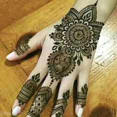 Henna Hand Designs, Dulhan Mehndi Designs, Arte Mehndi, Mehndi Designs Finger, Latest Henna Designs, Mehndi Designs Book, Mehndi Design Pictures, Modern Mehndi Designs, Mehndi Designs For Girls