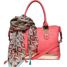 Trend-Spotting! This Season's Must-Have Colors - Coral & Mint http://www.opensky.com/elise-hope
