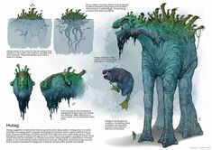 with back-story development Alien Creatures, Fantasy Creatures, Mythical Creatures, Alien Concept Art, Creature Concept Art, Cool Monsters, Sea Monsters, Fantasy Monster, Monster Art
