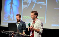 German project Sonar - 360° computer-generated experience by Philipp Maas and Dominik Stockhausen — w miejscu: Państwowa Wyższa Szkoła Filmowa, Telewizyjna i Teatralna im. Leona Schillera w Łodzi