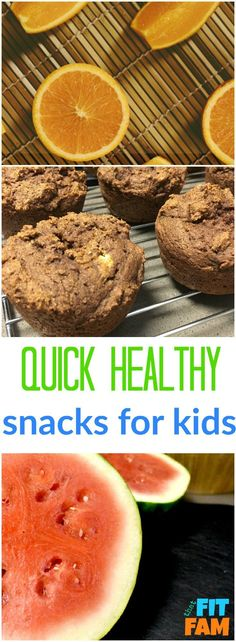 quick healthy snacks for kids