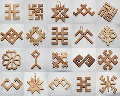Latvian ethnographic symbols