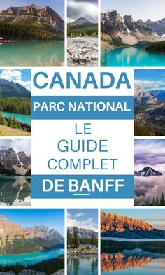 Banff National Park is an extraordinary place to see on a trip to Canada. Here are the ten must-see in the park. Banff Canada, Parc National De Banff, Machu Picchu Travel, Canada National Parks, Visit Canada, Voyage Europe, Immigration Canada, Photos Voyages, Canada Travel
