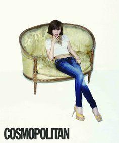 Jo Yoon-hee // Cosmopolitan // May 2013