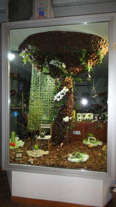 Boutique fleuriste par Justine Roch Scénographe plasticienne.