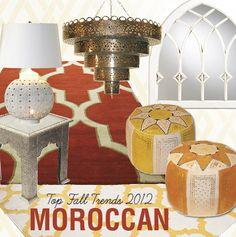 2012 Fall Trend Moroccan