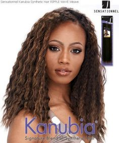 """Sensationel Kanubia Synthetic Weaving Hair Ripple Wave 14"""" Color F2/27 by Sensationnel. $7.99"""