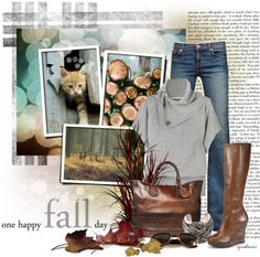 """""""One Happy Fall Day"""" by cynthia335 ❤ liked on Polyvore"""