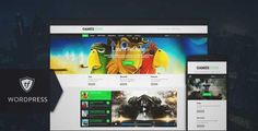 Download and review of Games Zone - Gaming WordPress Theme, one of the best Themeforest Magazine & Blogs themes