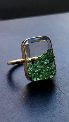 Jewelry Rings, Jewelry Accessories, Jewelry Design, Unique Jewelry, Fine Jewelry, Jewlery, Bijoux Art Deco, Bling, Love Ring