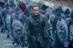Watch Trailer: The Great Wall Starring Matt Damon, Jing Tian, and Pedro Pascal Matt Damon, Upcoming Movies, New Movies, Comedy Movies, Video Interview, Wall Film, Andy Lau, House Of Flying Daggers, Pedro Pascal