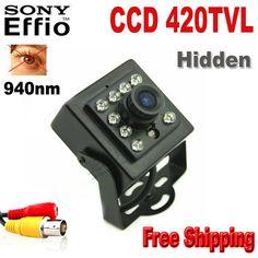 CCD 420TVL CCTV security Camera CCD Color Night Vision  mini ir camera Indoor CCTV Mini PIR Style 3.6mm Len Surveillance Camera #Affiliate