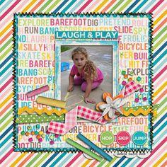 Kids at Play - Kristin Cronin-Barrow and Penny Springmann  Font - Problem Secretary Normal