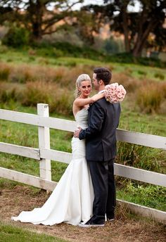 Country Wedding Photography so doin a picture like this but only with the groom steeling a kiss