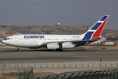CU-T1251 CUBANA AIRLINES Ilyushin 96-300 (LEMD) 17/03/2012 by Mepo's World Aircraft, via Flickr