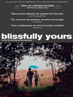 """""""Sud sanaeha"""" or """"Blissfully Yours"""" (2002) by Director : Apichatpong Weerasethakul"""