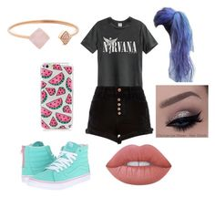 """""""Untitled #346"""" by glamor234 on Polyvore featuring River Island, Vans, Michael Kors and Lime Crime"""
