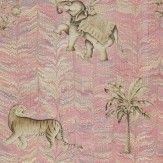 Zoffany Jaipur Red Wallpaper