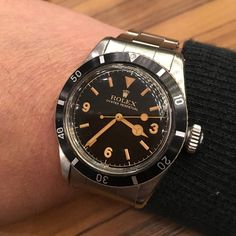 """""""FINALLY CAN SEE THE BEST KINGSUB IN PERSON TODAY REALLY NICE @kkevalll #rare #Rolex #rarerolex #rolexforums #nbtimes #rolexpassion #submariner…"""""""
