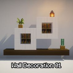 minecraft decoration - Explore the best and the special ideas about Cool Minecraft Houses Minecraft Mansion, Cute Minecraft Houses, Minecraft House Tutorials, Minecraft Castle, Minecraft Room, Minecraft House Designs, Amazing Minecraft, Minecraft Tutorial, Minecraft Blueprints