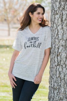Sundays Are For Football. Womens Graphic by simplysweetapparel