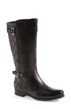 Earthies 'Sevilla' Boot (Women) Black Calf Leather Size 12 M on Vein - getVein.com
